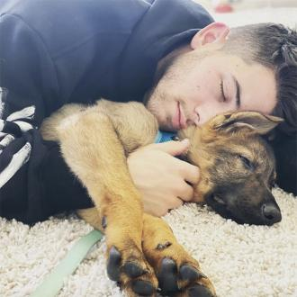 Nick Jonas has been talking to his dog