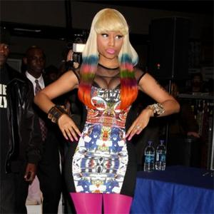 Nicki Minaj Has Huge Rider
