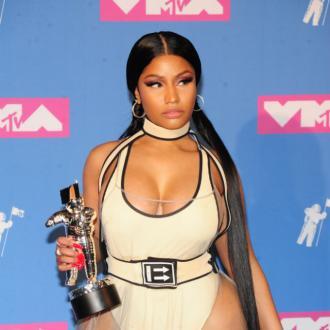 Nicki Minaj's wardrobe mishap