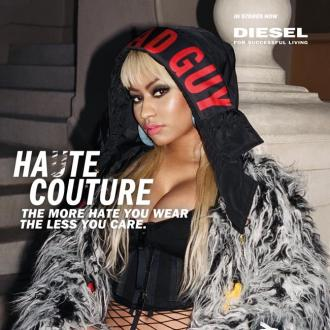 Nicki Minaj is the face of new Diesel campaign