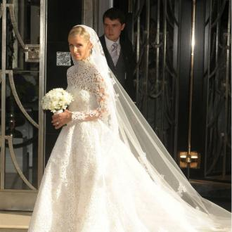 Nicky Hilton Wore $70k Valentino Wedding Gown