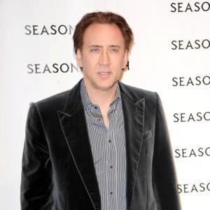 Nicolas Cage's Son Given Restraining Order