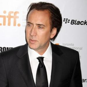 Nicolas Cage Wore Ghostly Voodoo 'Mask'