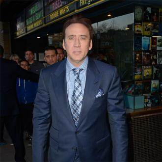 Nicolas Cage takes credit for  prosthetic nose in Never on Tuesday
