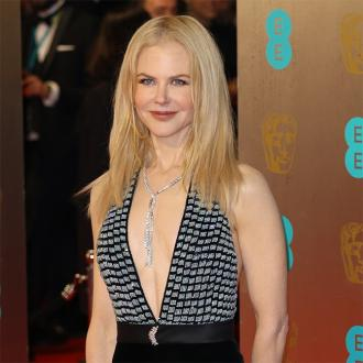 Nicole Kidman's risque dress