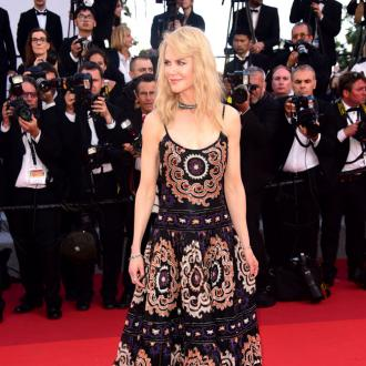 Nicole Kidman savouring the moment