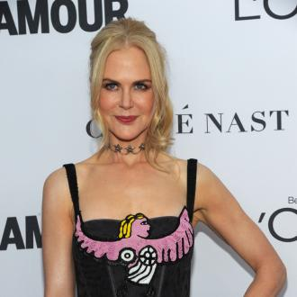 Nicole Kidman's Too Busy For Make Up