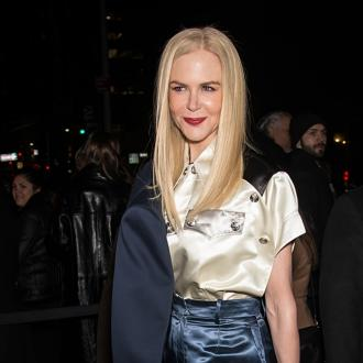Nicole Kidman makes effort for kdis