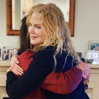 Nicole Kidman reunited with mom