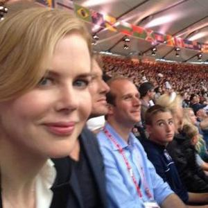 Nicole Kidman Attends 'Amazing' Olympics Opening Ceremony