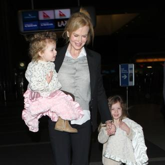 Nicole Kidman Gets Joy From Family