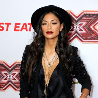 Nicole Scherzinger trains with David Beckham