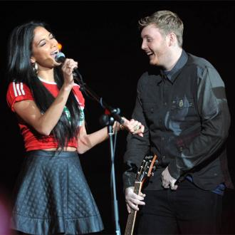 James Arthur working on 'surprise' with Nicole Scherzinger