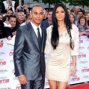 Nicole Scherzinger Has Race-y Romance With Lewis