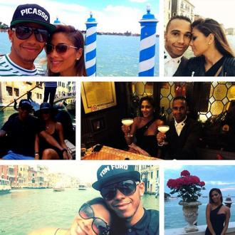 Nicole Scherzinger And Lewis Hamilton Celebrate Anniversary In Venice