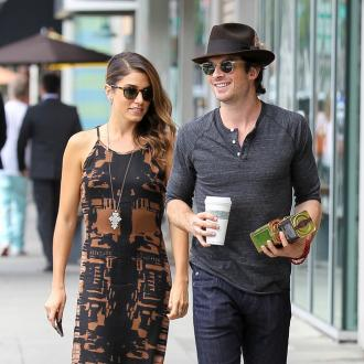 Nikki Reed and Ian Somerhalder are 'over the moon'