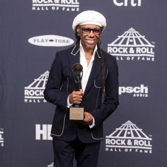 Nile Rodgers praises collaborators as he is inducted into Rock and Roll Hall of Fame