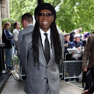 Nile Rodgers sleeps with guitar
