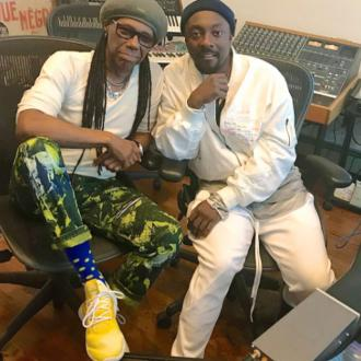 Black Eyed Peas working with Nile Rodgers
