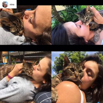 Nina Dobrev Pens Heartfelt Tribute To Her Late Cat