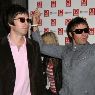 Noel and Liam Gallagher on Manchester Walk of Fame