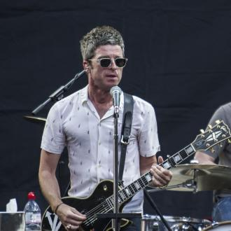 Noel Gallagher performs at Manchester Arena re-opening concert