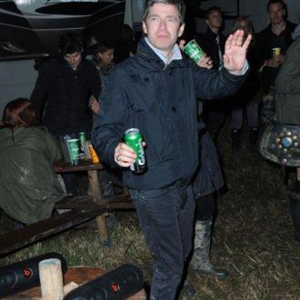 Bradley Cooper And Fassbender Party At Glasto