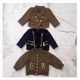 North West Gets Designer Jackets