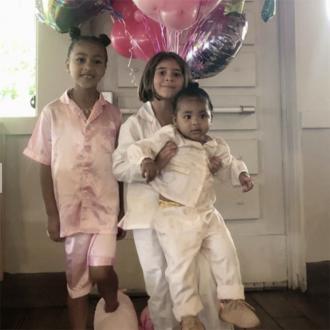 Penelope Disick Celebrates 7th Birthday With Diner Pyjama Party