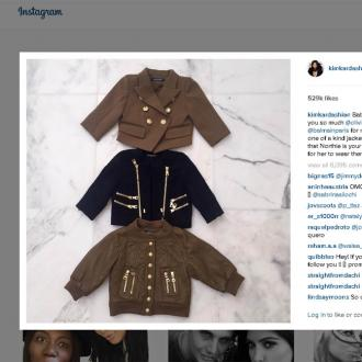 North West Is Olivier Rousteing's 'Muse'