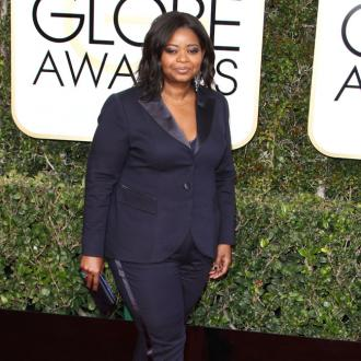 Octavia Spencer Felt 'Freer' Wearing A Tuxedo To The Golden Globes