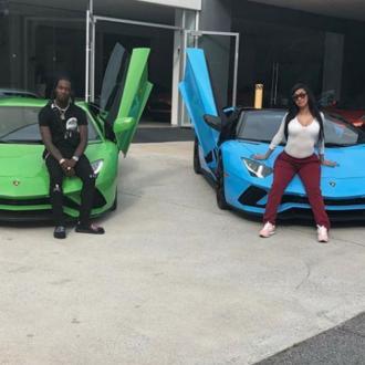 Cardi B And Husband Offset Buy New Matching Cars