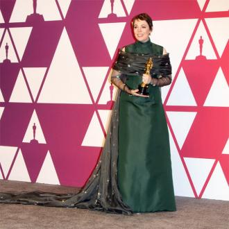Olivia Colman got in shape with Dalton Wong