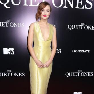 Olivia Cooke's red carpet nerves