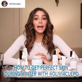 Olivia Culpo uses coconut oil to shave