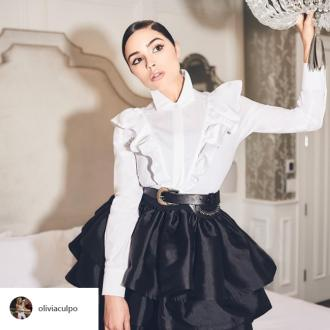 Olivia Culpo always dreamed of designing clothes