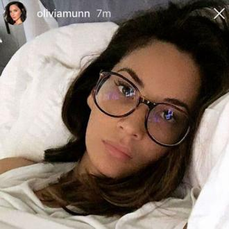 Olivia Munn has food poisoning