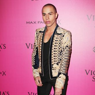 Olivier Rousteing Loves The 'Challenge' Of Collaborating With Victoria's Secret