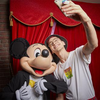 Olly Alexander felt like Disney princess after trip to Disneyland