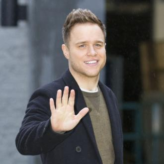 Olly Murs Starstruck At Band Aid Recording