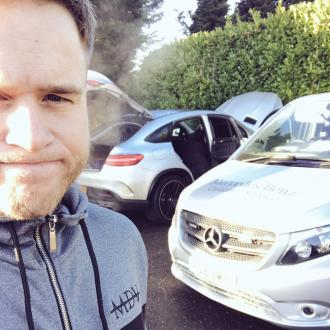 Olly Murs' car trouble