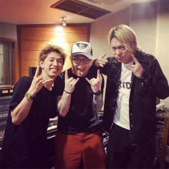 Ed Sheeran hits the studio with Japanese rockers One OK Rock