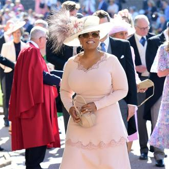 Oprah Winfrey hails 'transformative' royal wedding