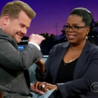 Oprah Winfrey Makes James Corden Cry