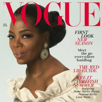Oprah Winfrey covers August edition of British Vogue