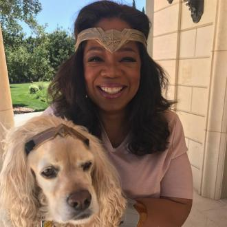 Oprah Winfrey's Wonder Woman party
