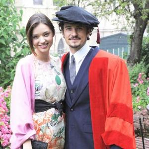 Honorary Degree For Orlando Bloom