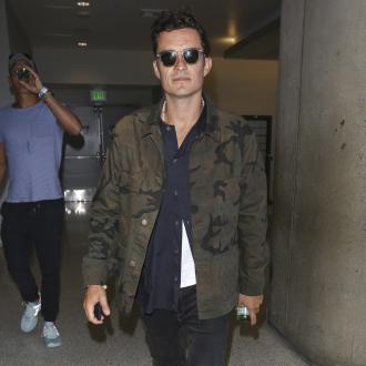 Orlando Bloom: Fame's a burning car