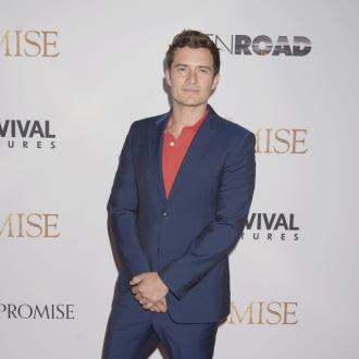 Orlando Bloom has snake as pet to conquer fear