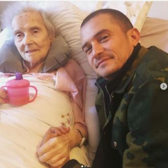 Orlando Bloom's tribute to grandma